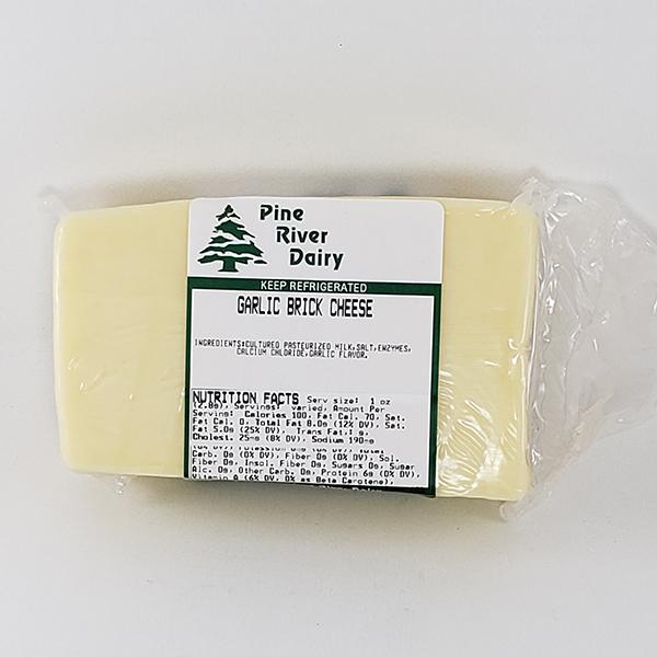 Garlic Brick Cheese
