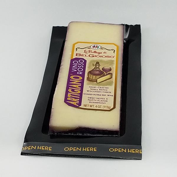 La Bottega di BelGioioso Vino Rosso Cheese