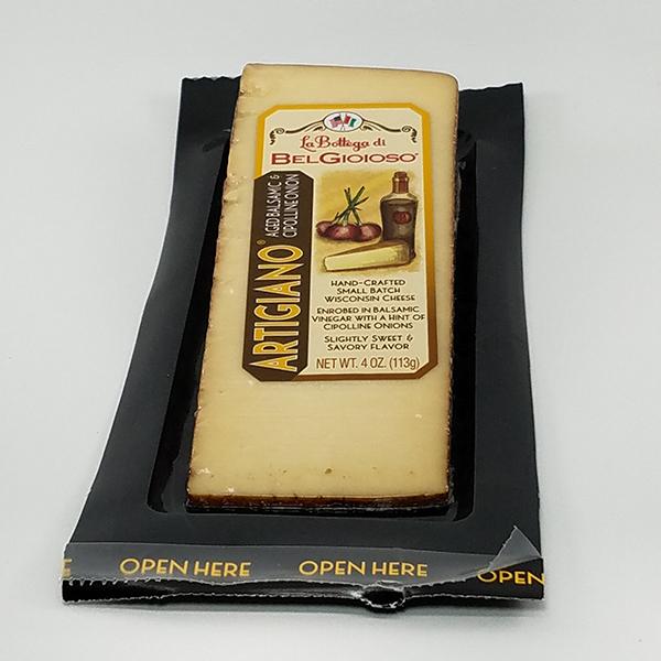 La Bottega di BelGioioso Aged Balsamic Cipolline Onion Cheese