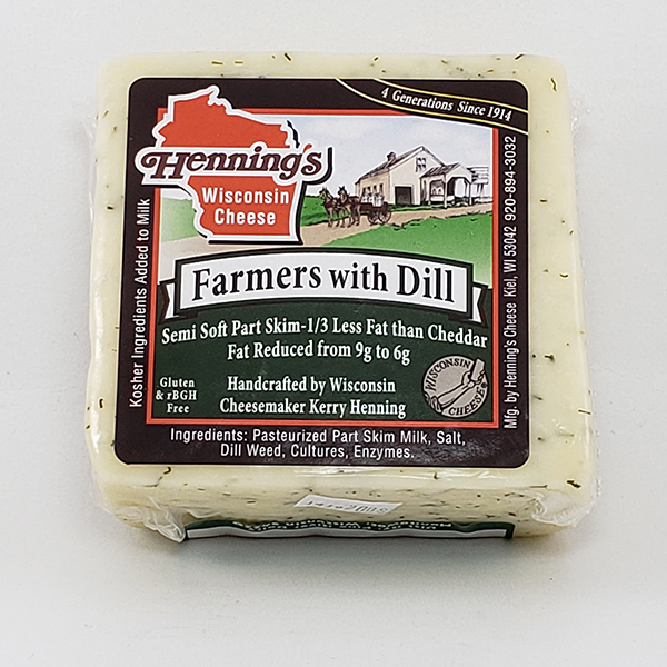 Henning's Farmers Cheese With Dill
