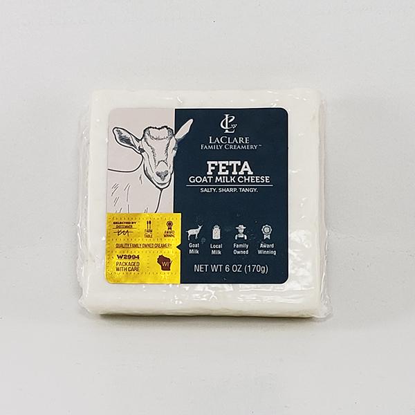 LaClare Family Creamery Feta Goat Milk Cheese