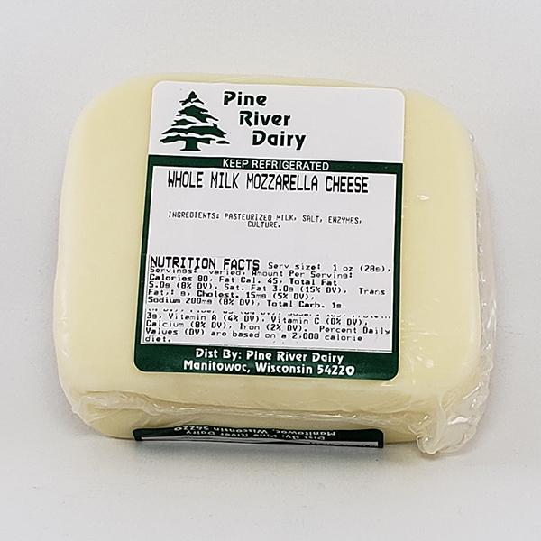 Whole Milk Mozzarella Cheese