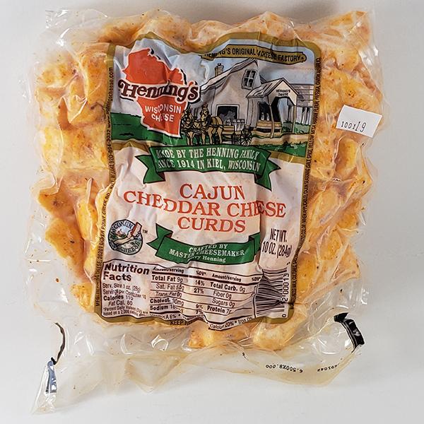 Henning's Cajun Cheese Curds