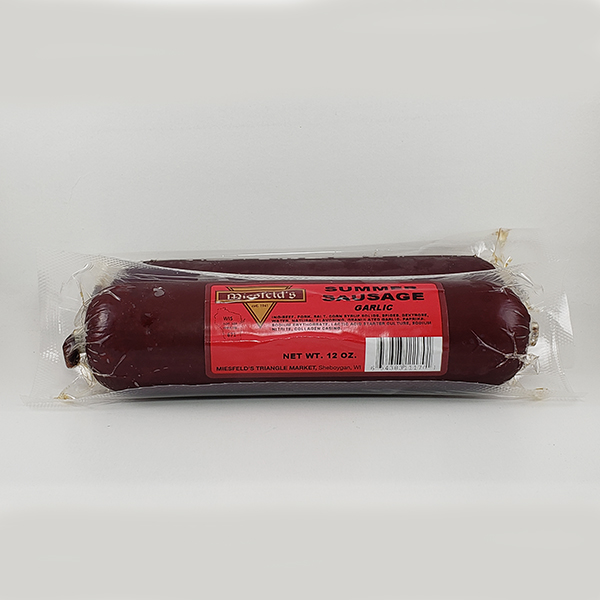 Miesfeld's Garlic Summer Sausage - 12oz
