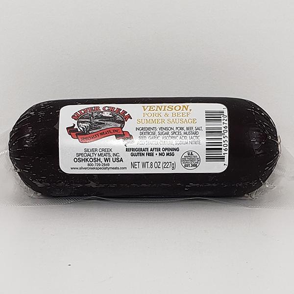 Silver Creek Venison Summer Sausage