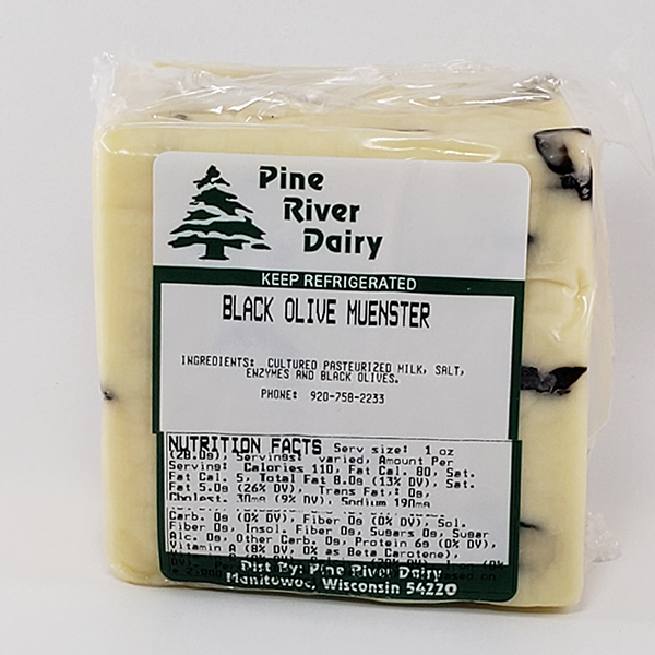 Black Olive Muenster Cheese