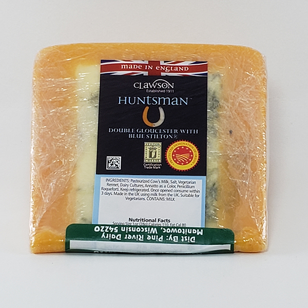 Huntsman Double Gloucester With Blue Stilton