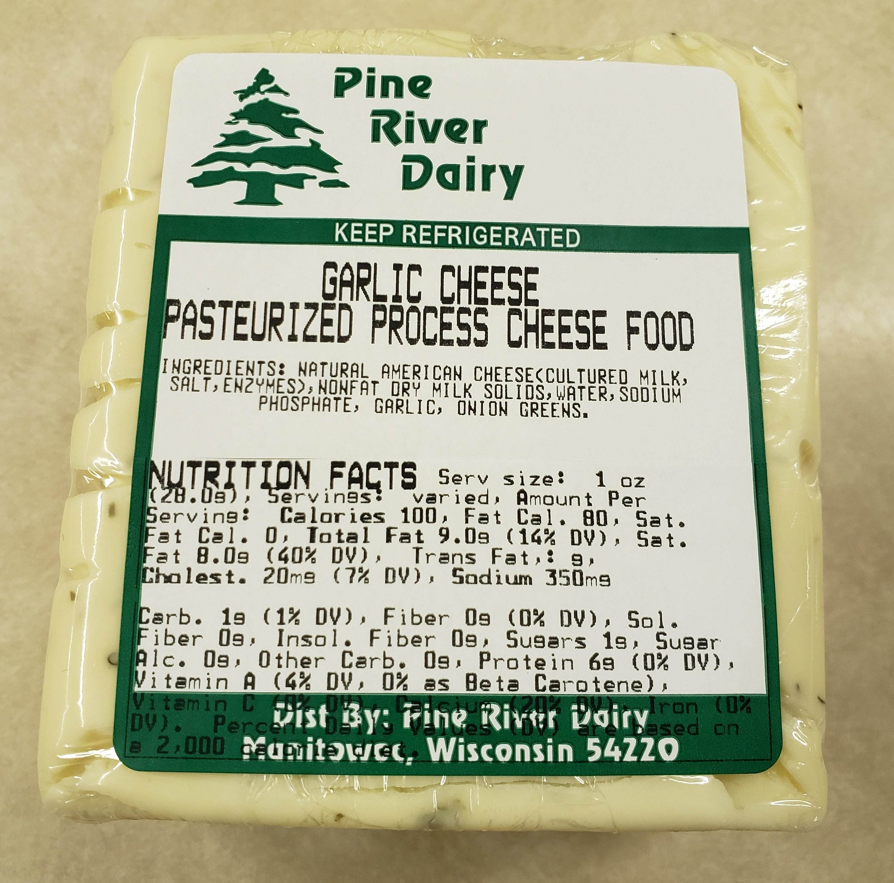 Garlic Process Cheese