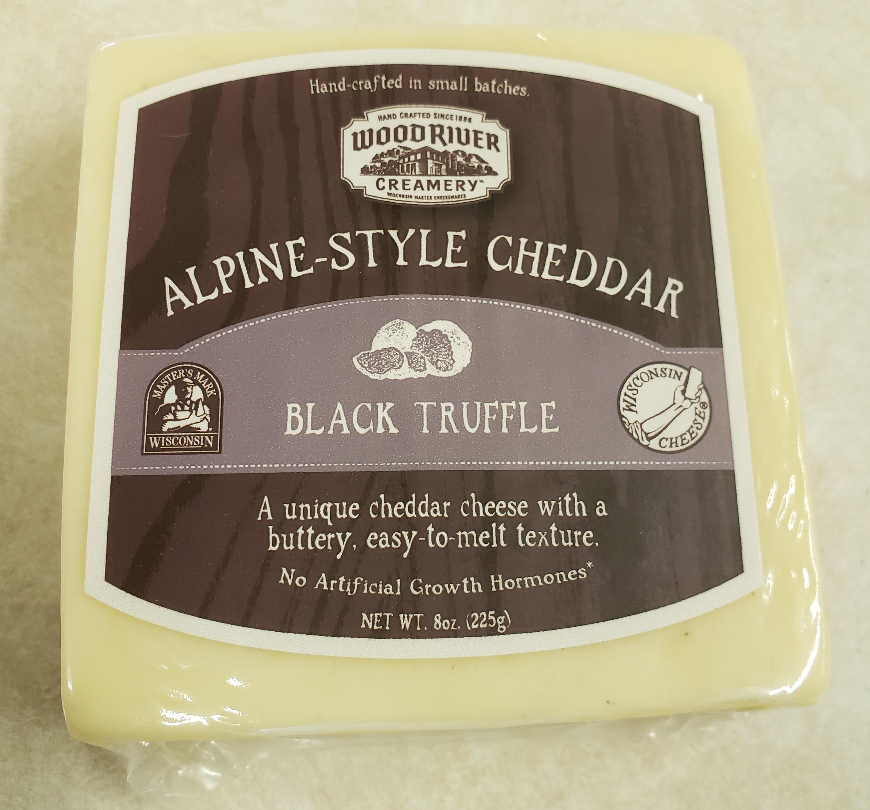 Wood River Creamery Black Truffle Cheddar Gruyere