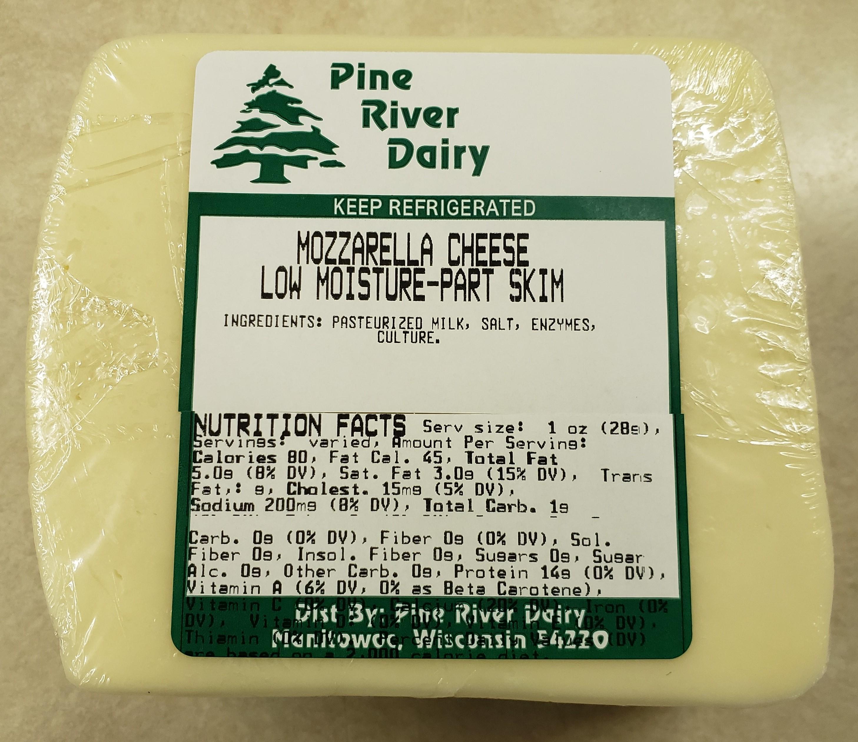 Mozzarella Low Moisture Part Skim