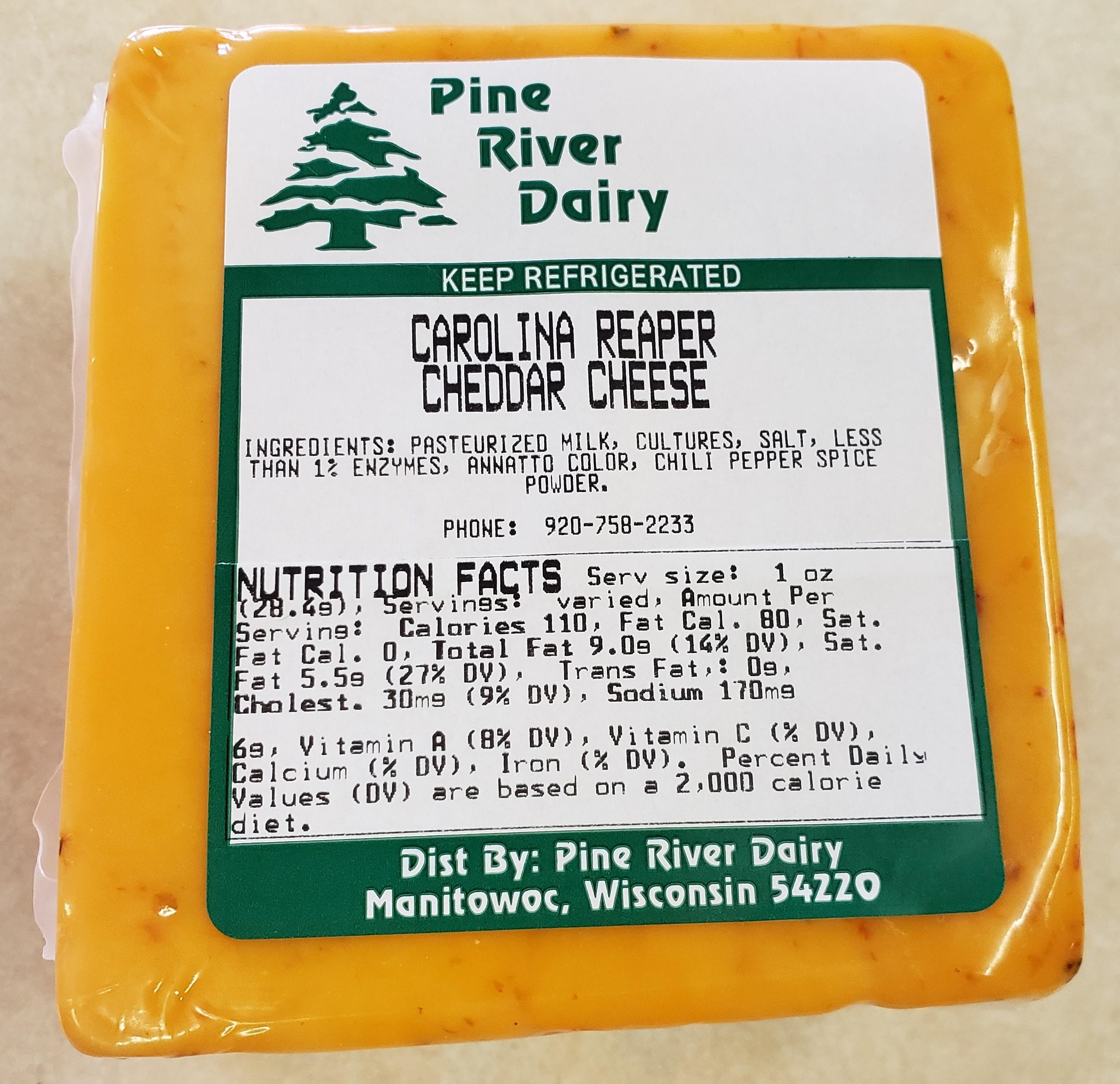 Carolina Reaper Cheddar Cheese