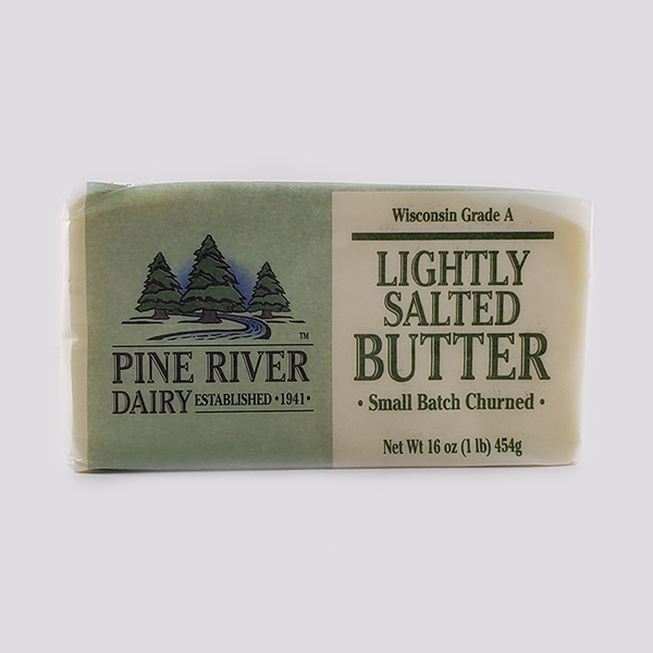 Lightly Salted Butter-1 case (15- one pound blocks)