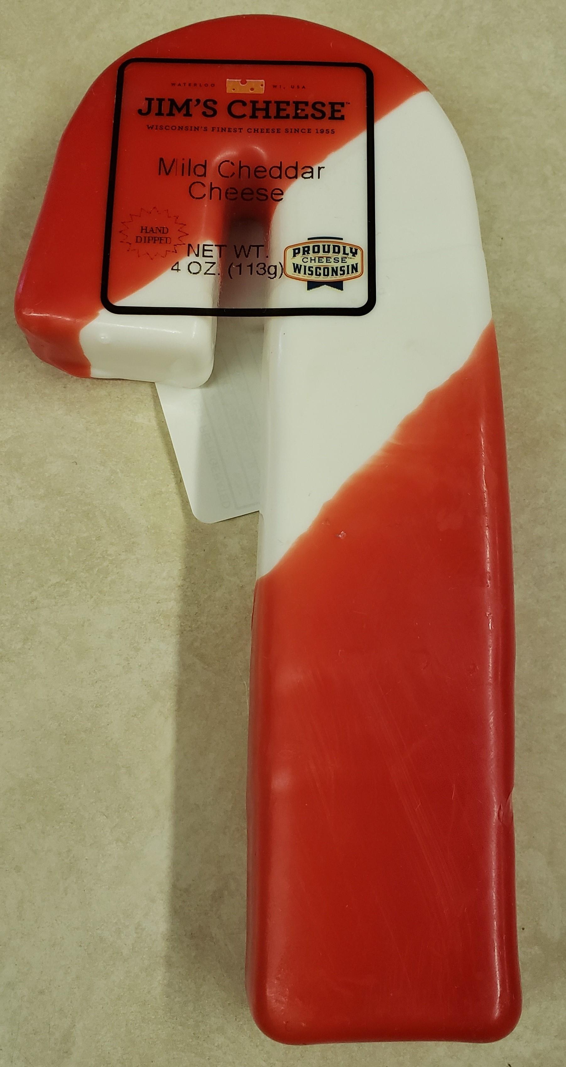 Wax Candy Cane-Mild Cheddar
