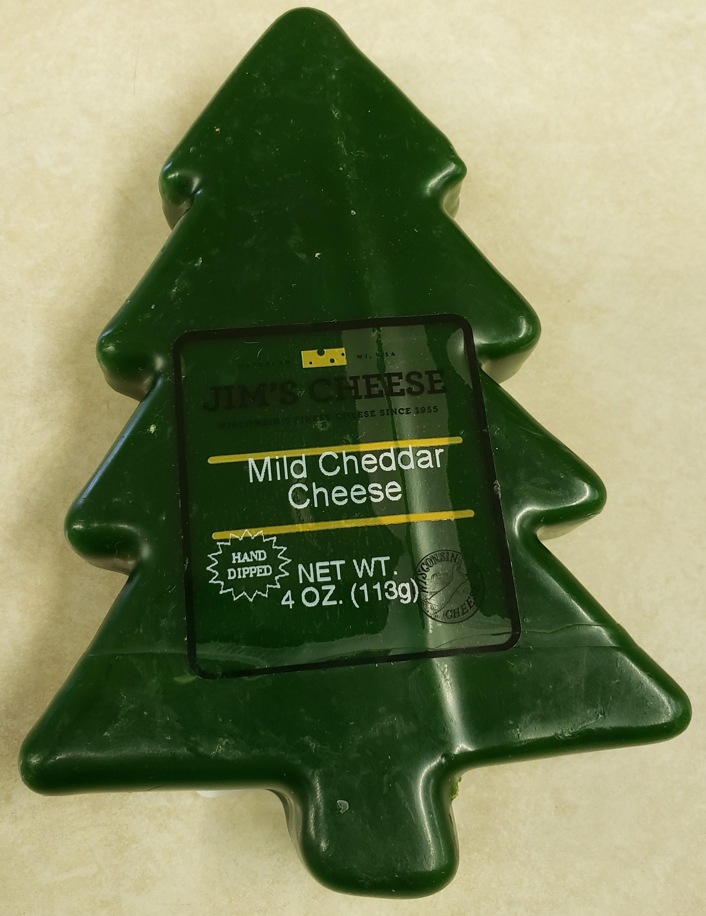 Wax Christmas Tree