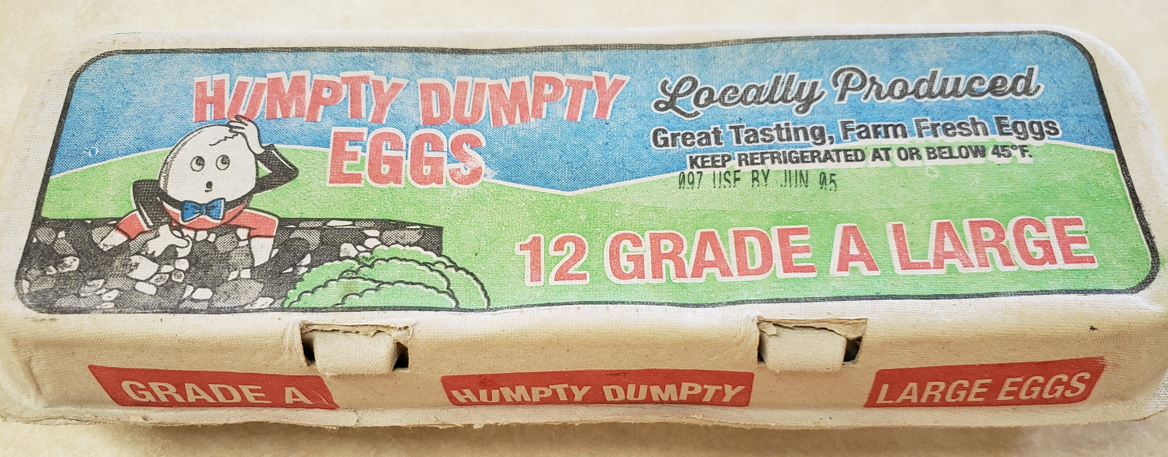 Humpty Dumpty Large Eggs (Pickup Item Only)