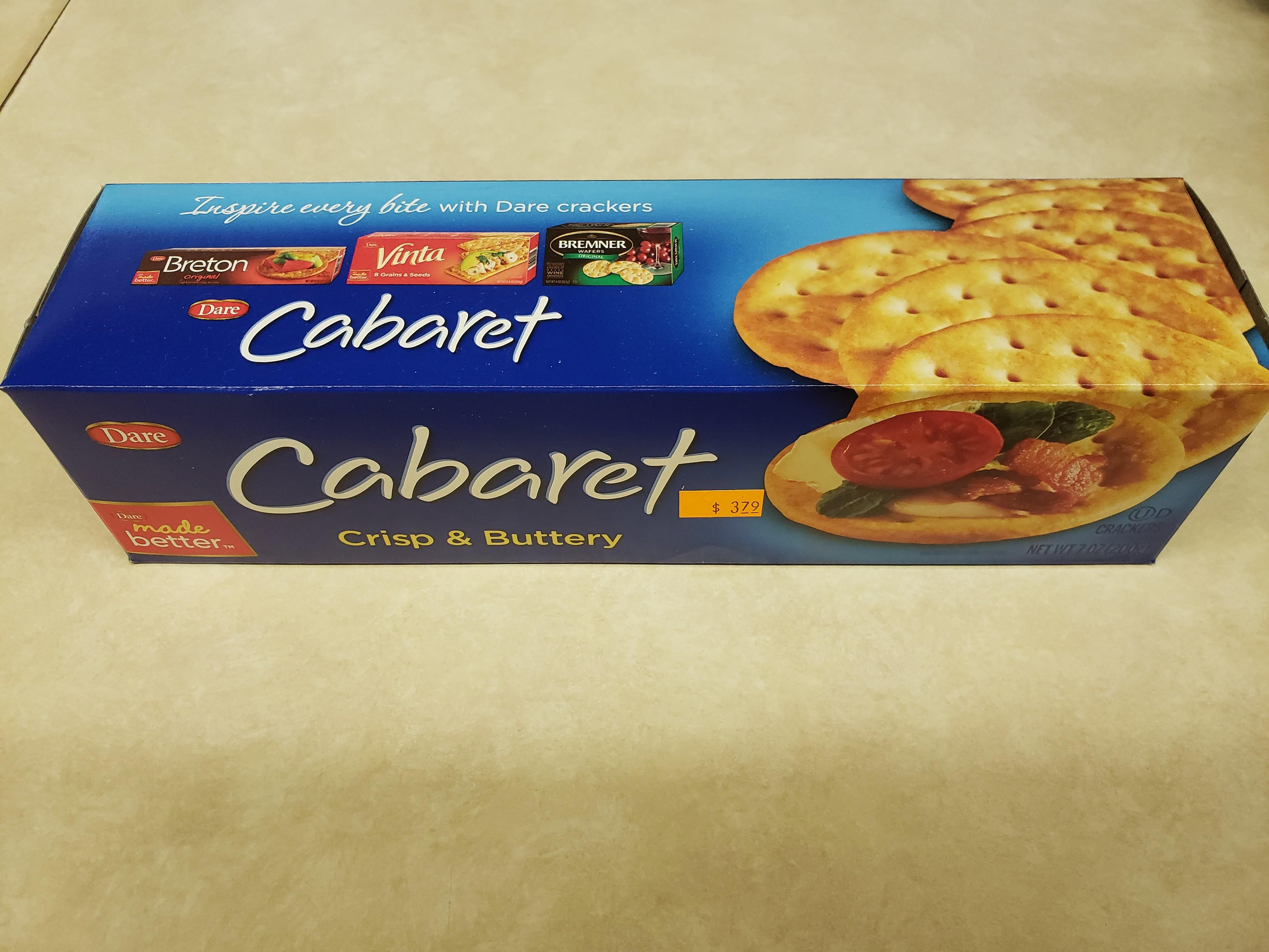 Cabaret Crackers