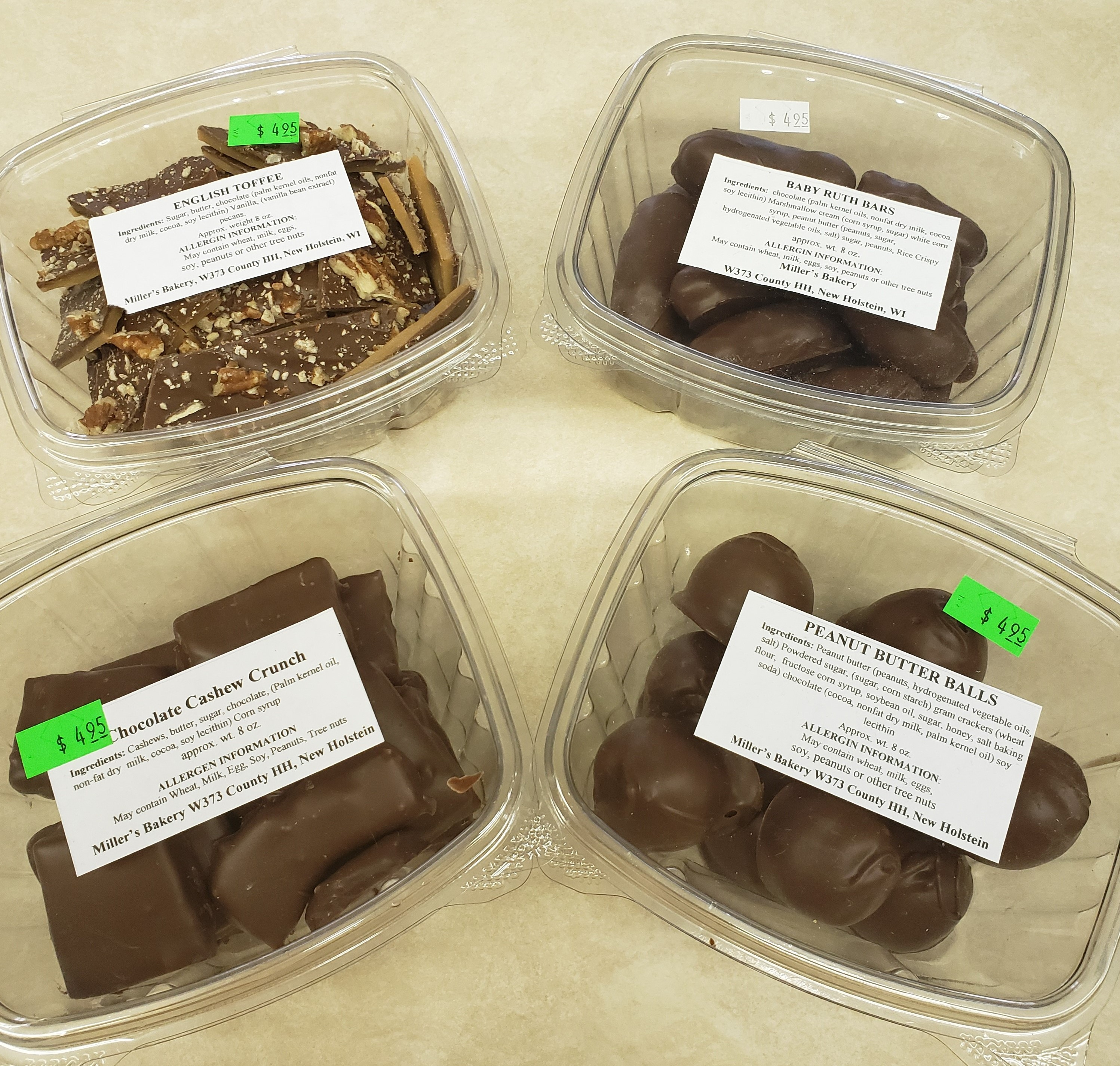 Amish Chocolate Candy (Pickup Item Only)