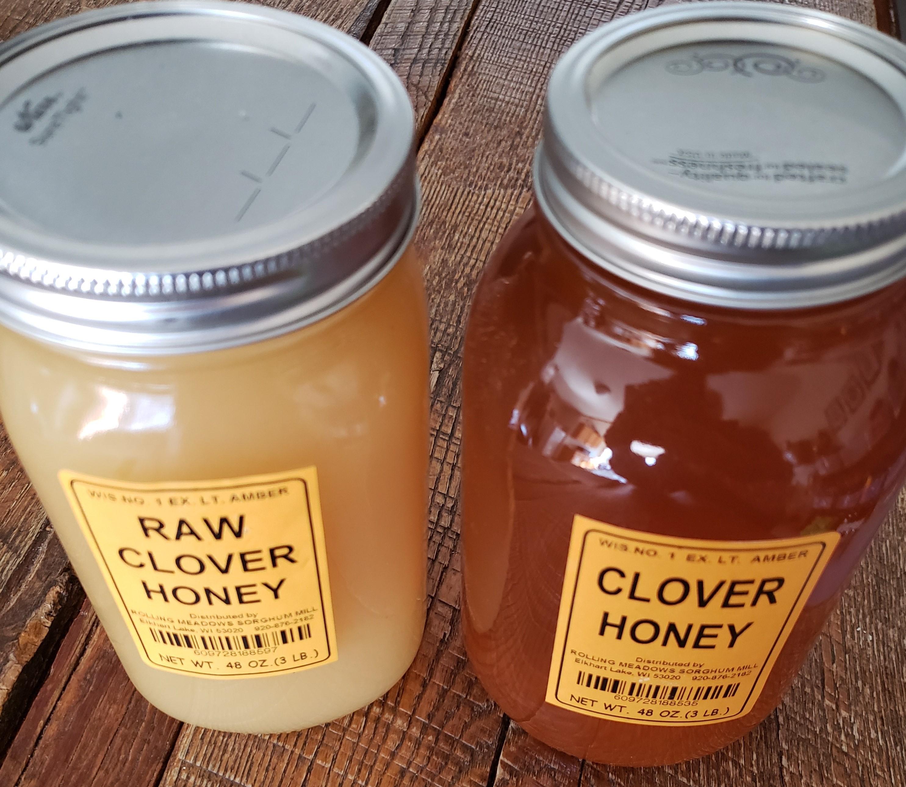 3# Jar Rolling Meadows Honey