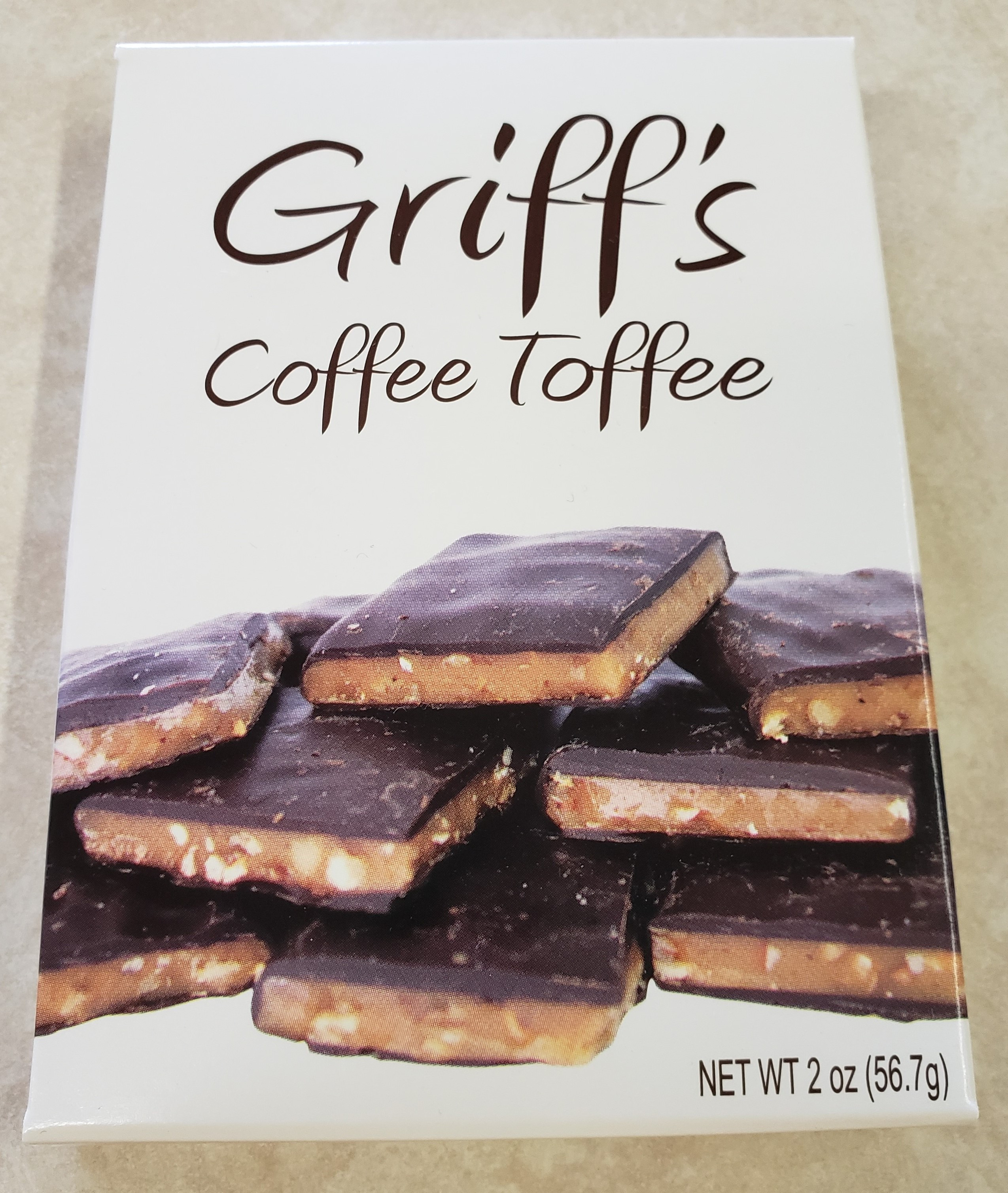 Griff's Toffee