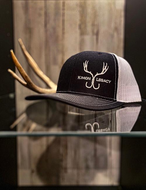 Hunter Series Snapback - Black/white