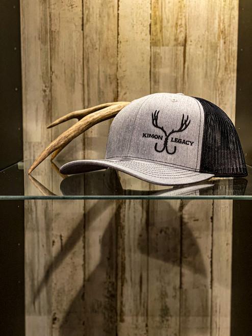 Hunter Series Snapback - Grey/Black