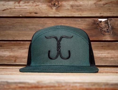 Cowboy Series Snapback - Green/Black