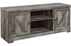 """Dextre 63"""" Wide TV Stand with Fireplace"""