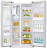 24.5 cu. ft. Side by Side White Refrigerator
