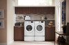 LMAX 4.2 cu. ft. Front Load Washer in White