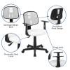 OF-1 White Desk Chair