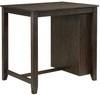 Amparo Brown/Cherry 3-PC Counter Height Set With USB Ports