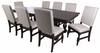 Alley Charcoal 9 Piece Dining Set