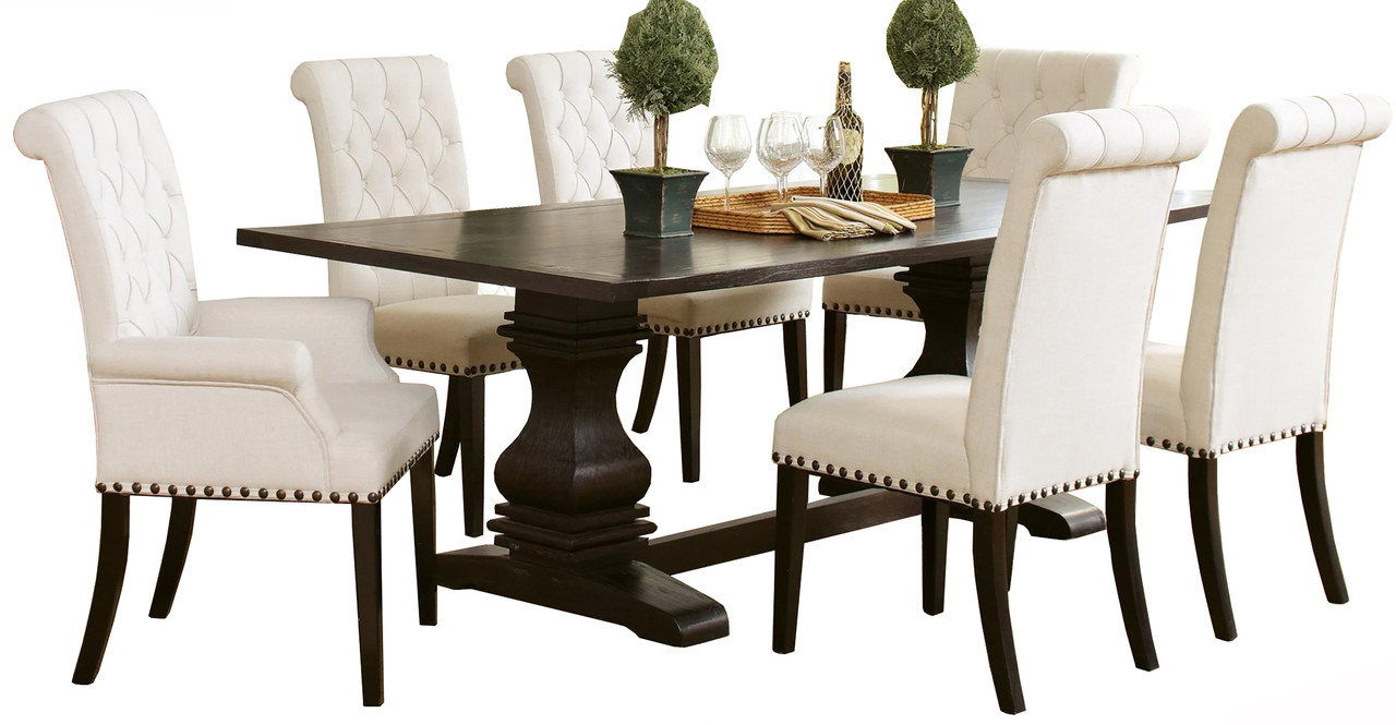 Cassidy Rustic Espresso 7-PC Dining Set