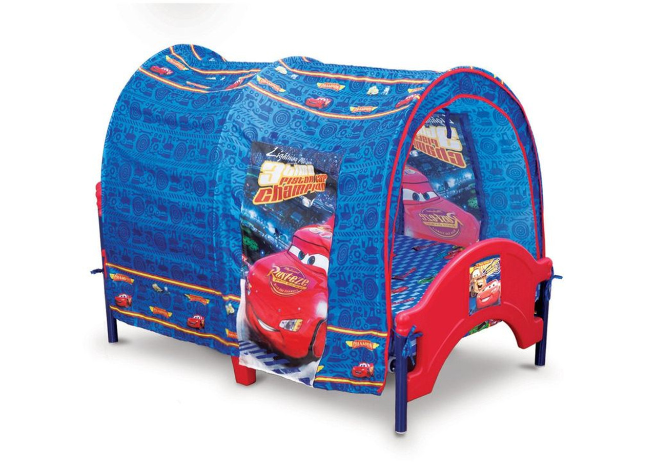Image of: Cars Toddler Tent Bed Cb Furniture