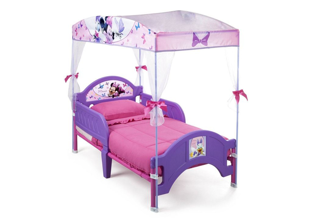 - Minnie Mouse Toddler Canopy Bed - CB Furniture