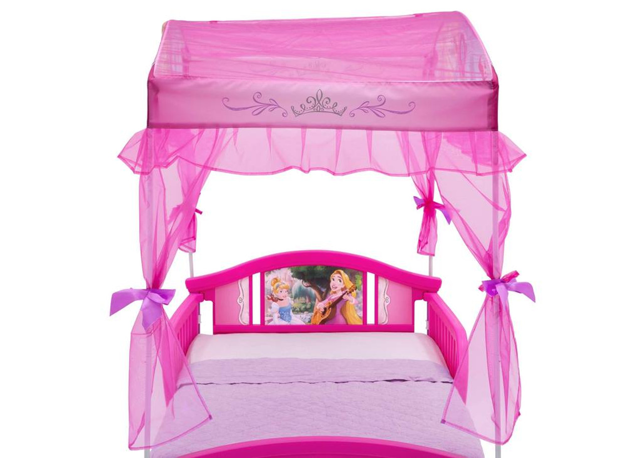 finest selection 54bc1 c79f1 Princess II Toddler Canopy Bed