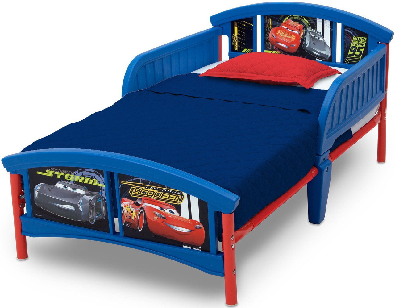 the latest c6535 10b22 Cars Toddler Bed