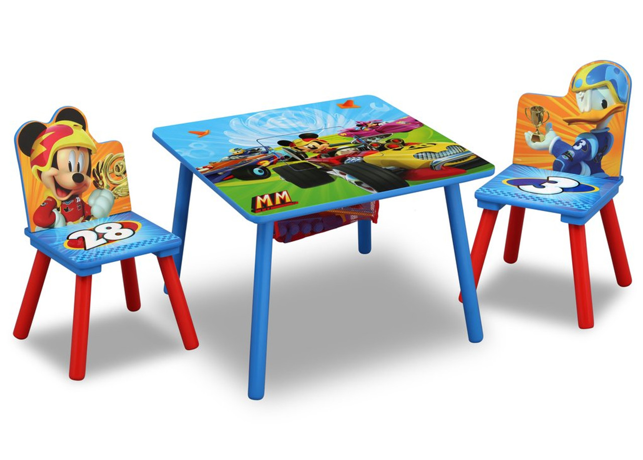 Mickey Mouse Table Chair Set With Storage