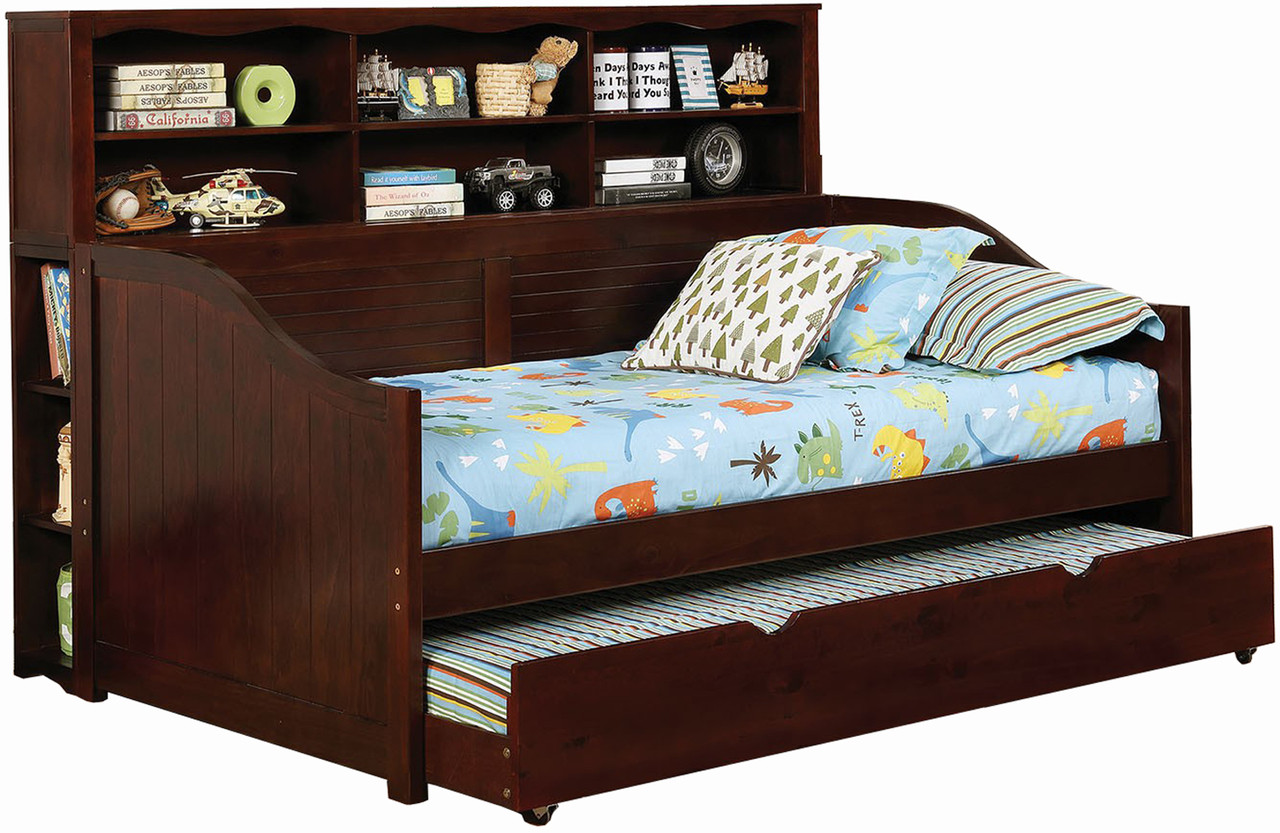- Ruby Bookcase Daybed With Trundle - CB Furniture