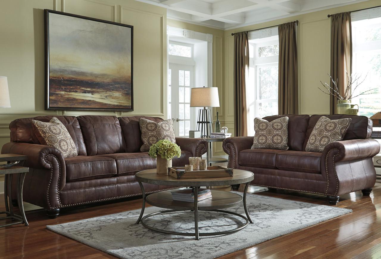 Attrayant Gibraltar Espresso Livingroom Set ...