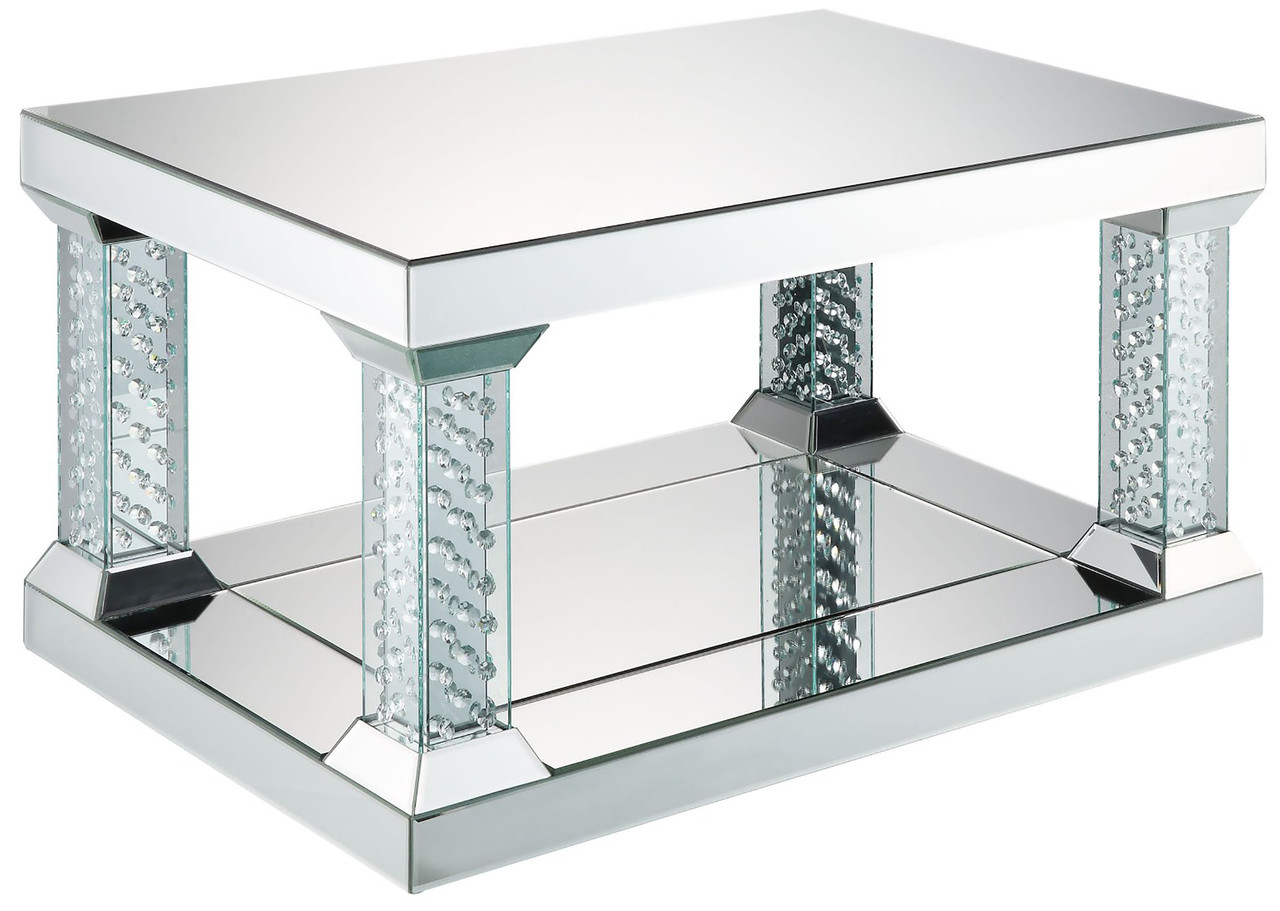 Mirna Mirrored Coffee Table