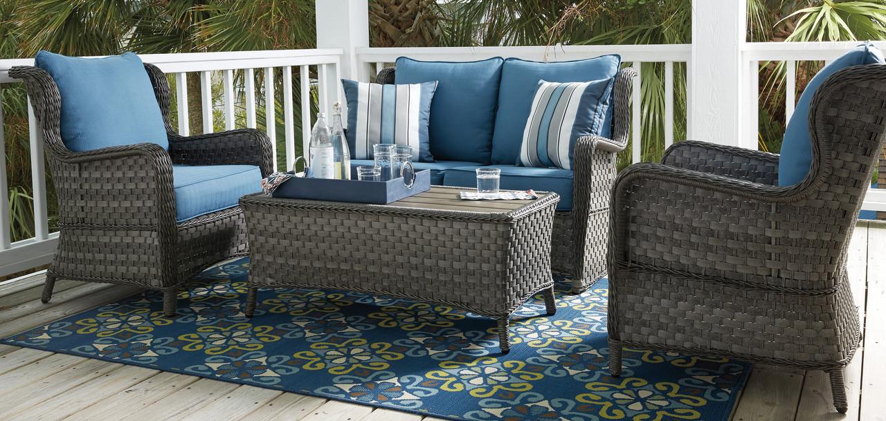 Masie 4pc Outdoor Patio Sofa Set Cb Furniture