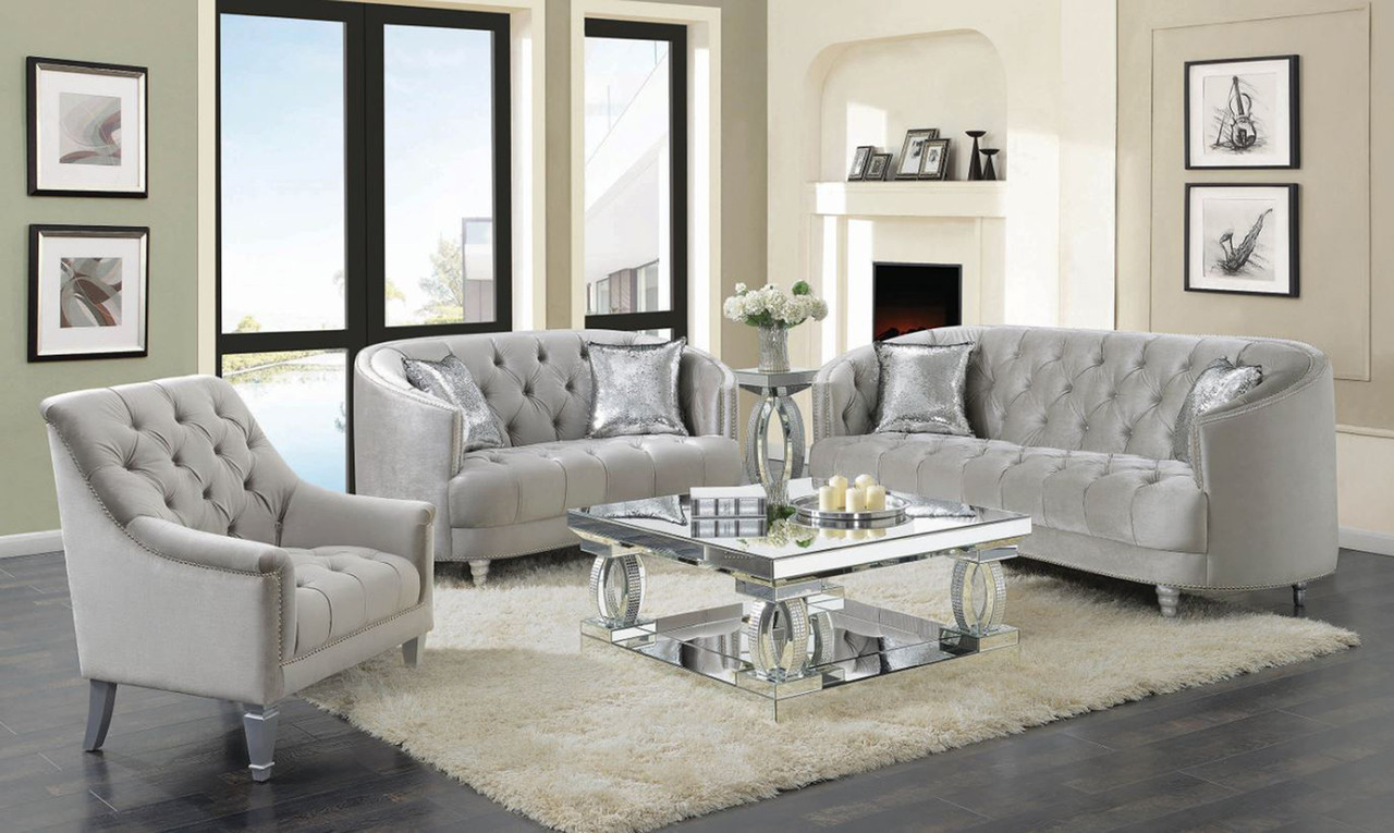 levine 3-pc livingroom set