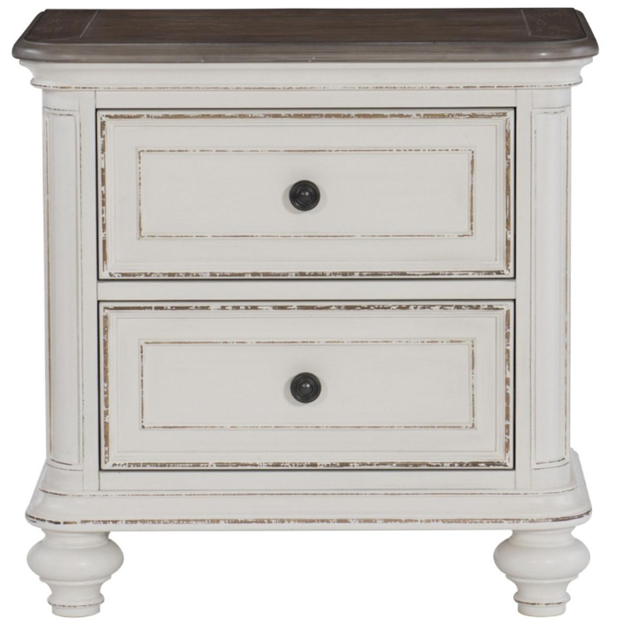 Jackson Antique White Bedroom Set Cb Furniture