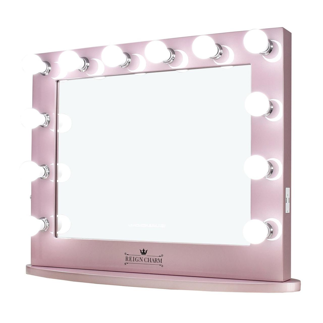 Sophia Classic Rose Gold Vanity Mirror Cb Furniture