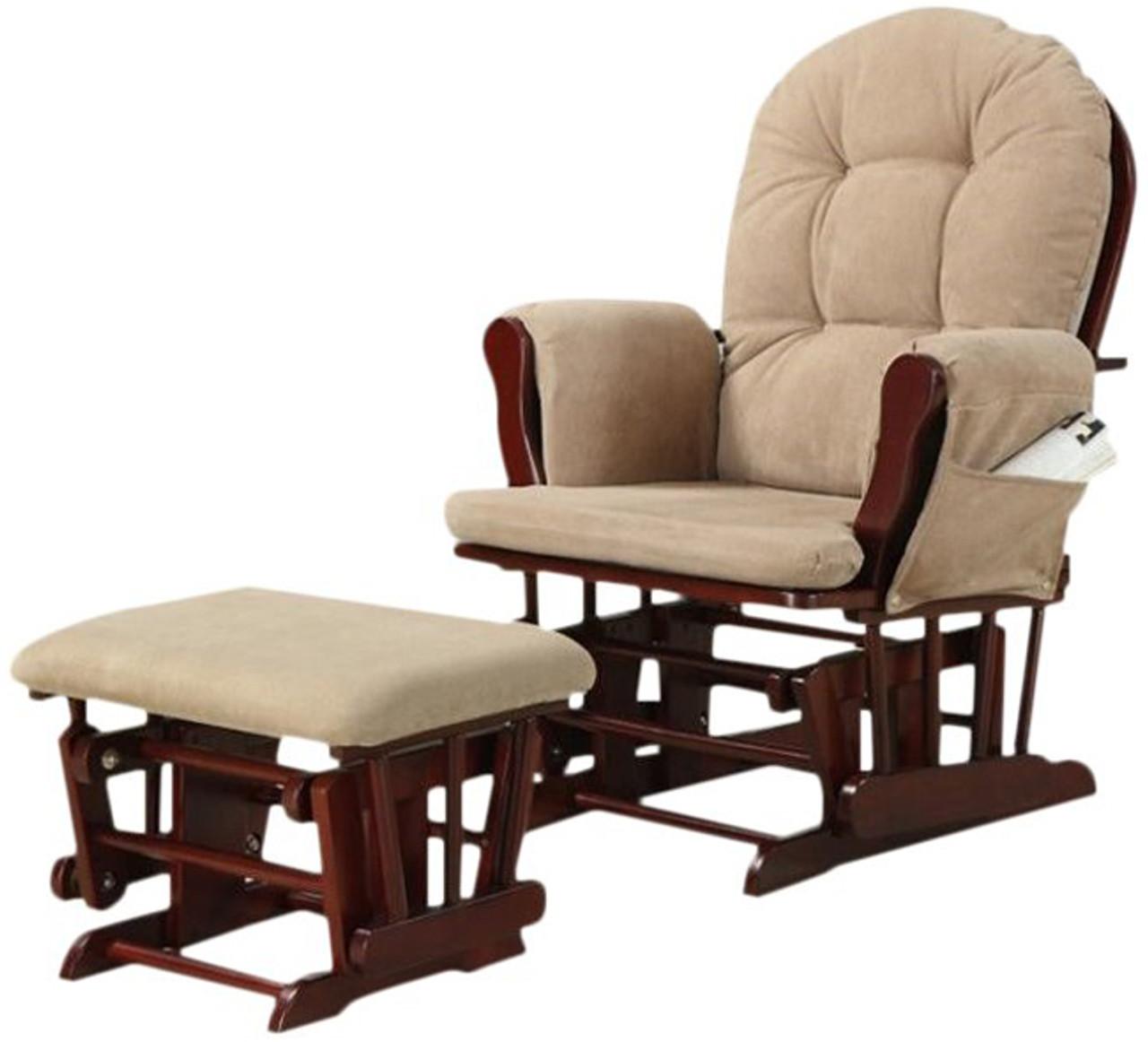 Hollie Glider Chair Ottoman