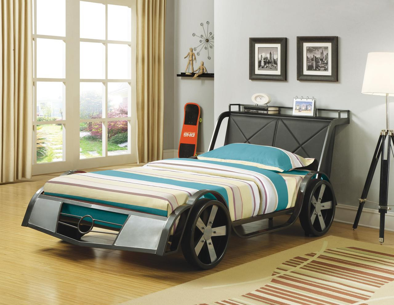 Picture of: Race Car Twin Size Bed Cb Furniture