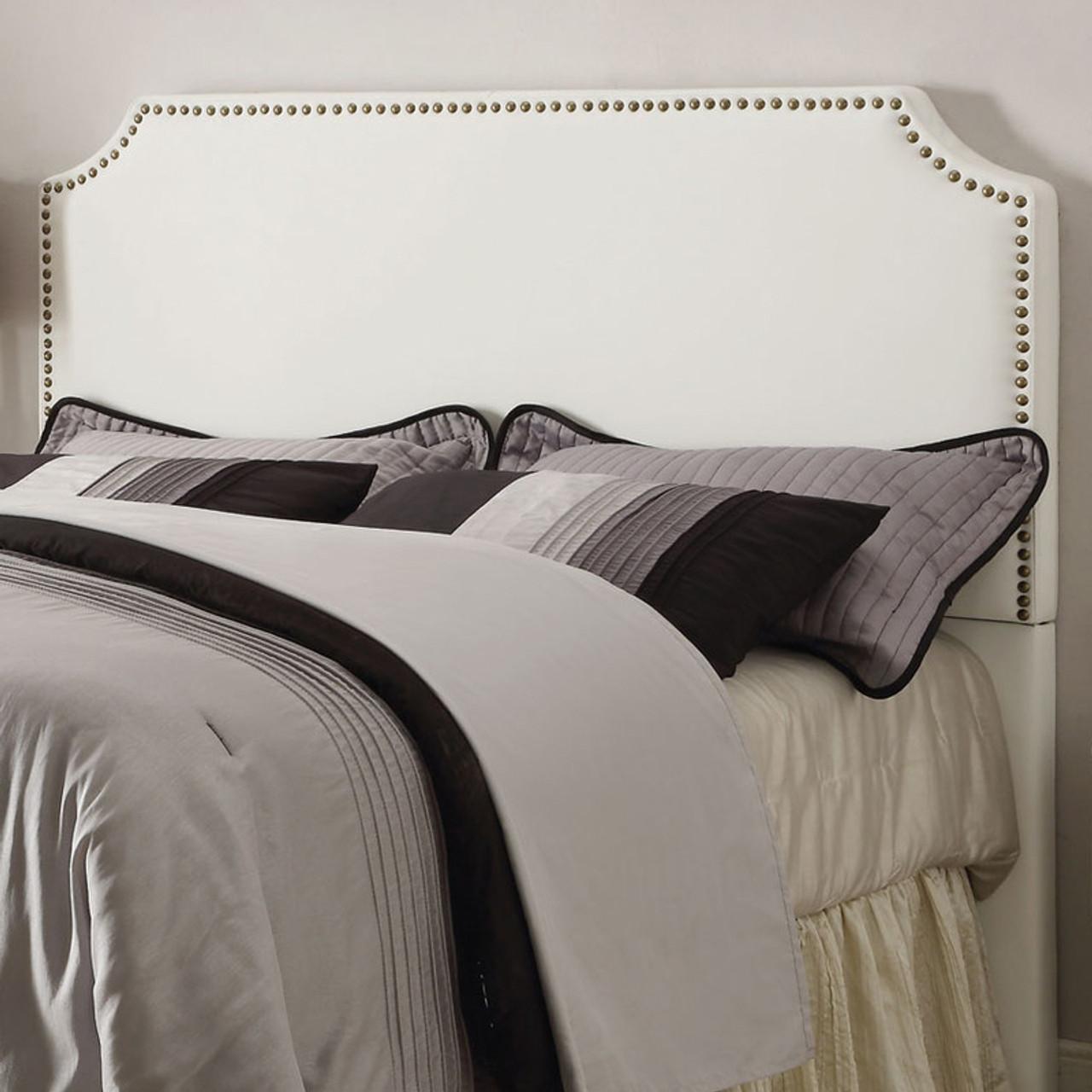 Natali White King Headboard Cb Furniture
