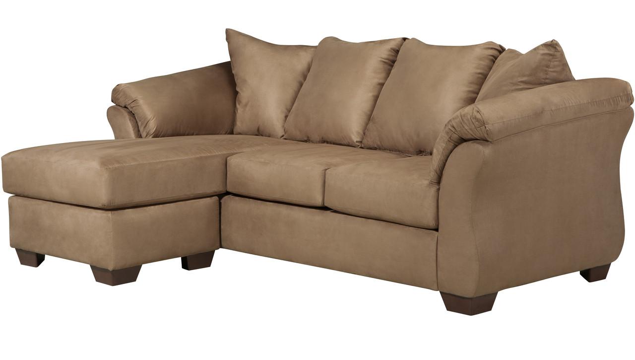 Marvelous Edeline Mocha Sofa Chaise Dailytribune Chair Design For Home Dailytribuneorg