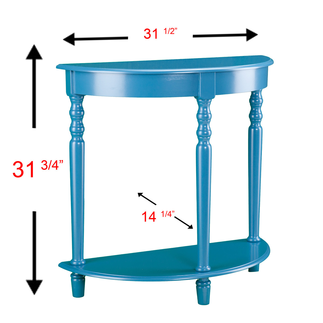 - Nero Blue Accent Table - CB Furniture